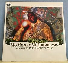 "NOTORIOUS B.I.G. PUFF DADDY Mo Money Mo Problems 1997 UK 12"" Vinyl Single EXCELL"