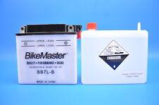 BikeMaster BB7L-B Yumicron Battery with Acid Pack  EDTM2273Y