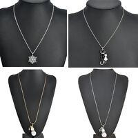 Hot Sale Jewelry Pendant Choker Chunky Statement Bib Chain Silver Necklace