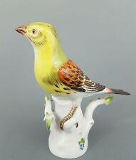 Meissen Vogel Figur, Goldammer, Mod.-Nr. 77049, Höhe 14 cm, 1.Wahl