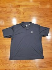 Cutter & Buck Mens Dry Tec NY Mets Embroidered Polo Steel Gray XXL