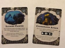 Warhammer Shadespire Promo Cards Coordinated Attack & Illusory Fighter