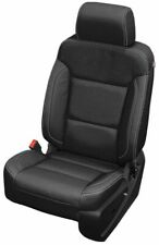 2014-18 Chevrolet Silverado Double Cab WT Katzkin Black Leather Seat Covers
