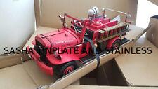 DODGE M37 FIRE ENGINE TRUCK LKW tin toy tinplate car blechmodell auto handmade