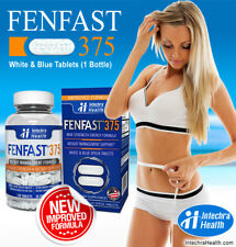 Fenfast 375 Top Fat Burning Tablets NEW IMPROVED FORMULA 120 White Blue Tablets