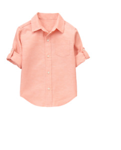 Janie & Jack - 2017 Summer 1 - Dress Shirt - Size 7 - Retail Price $38