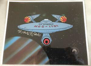 Star Trek Production Cel signed by Nichelle Nichols S2