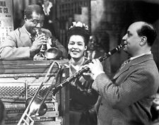 Louis Armstrong, Billie Holiday and Barney Bigard photo - F1205 - New Orleans