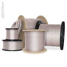 50m 5mm 6 19 Câble en acier câble en acier galvanisé Câble levage acier