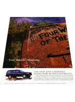 1997 Jeep Cherokee 2-page - Vintage Advertisement Car Print Ad J406