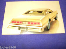1974 THUNDERBIRD Dealer promo post card ORIGINAL Reynolds Ford SYRACUSE New York