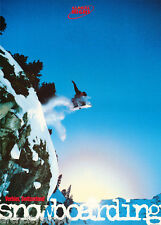 Poster :Sports :Snowboarding : Verbier , Switzerland - Free Ship #Pg4011 Lc14 O