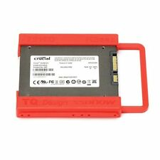 "2.5"" to 3.5"" Screw-less SSD HDD Mounting Adapter Bracket Hard Drive Holder Red"