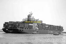 mc2236 - German Container Ship - Ville De Sagitta , built 1994 - photo 6x4