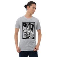 Khmer Naga - Short-Sleeve Unisex T-Shirt - cambodia SEA