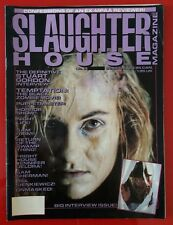 SLAUGHTERHOUSE ISSUE 3 HORROR MAGAZINE