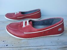 Clarks Women's Shoes UK Size 7 Red Colour