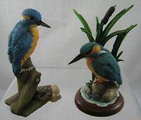 Border Fine Arts - Kingfisher A6057 + Sherratt & Simpson - Kingfisher on Branch