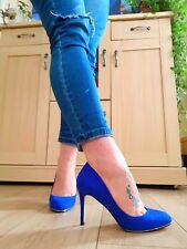Kurt Geiger Azul Real Tribunal Zapatos uk6/39
