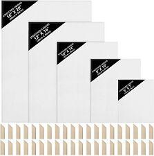 Kurtzy Set Tele per Dipingere (5 Formati / 10pz)- Tela 13x18,...