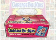 1985 GARBAGE PAIL KIDS Series 1 OS1 - Full Box w/ 48 Sealed Packs- UK Ireland