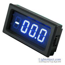 Dc 0 20a Blue 3 12 Digital Led Amp Current Meter Ammeter Panel Meter