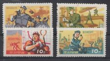 KOREA STAMPS 1966 DEVELOPMENT INDUSTRY MNH POST ENGINEERING METALLURGY Mi 740/43