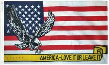 """New listing """"Love It Or Leave It"""" 3x5 ft flag polyester"""