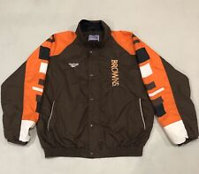 Vintage Reebok-Pro Line Auth.-Cleveland Browns-Windbreaker Jacket-Mens XL-Rare!