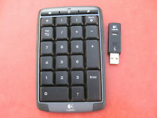 Logitech Y-RBC86 Wireless Cordless Number pad Numeric Keypad with USB Receiver