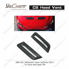 FRP Bonnet Kit Fit For 08-17 Mitsubishi Lancer EVO X EVO 10 CS-Style Hood Vent