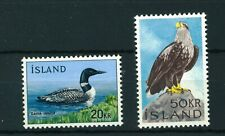 Iceland 1966 Birds full set of stamps. MNH. Sg 430-431.