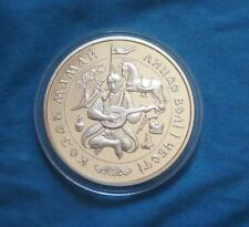 COSSACK MAMAI Play the Bandura Ukraine KM# 54 Silver PROOF 20 UAH 1 Oz Coin 1997