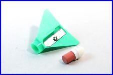 Matita anspitzer aereo/Penny Toy Airplane Green Pencil Eraser & Sharpener