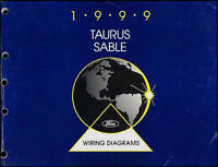 2005 Ford Taurus Mercury Sable Wiring Diagram Oem Factory Manual Ebay