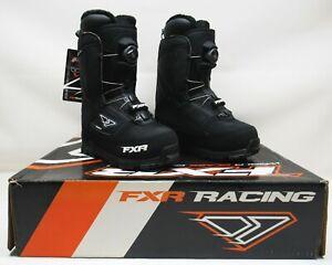 FXR Racing Black BOA H3 Backshift Boots - MEN'S SIZE: 5