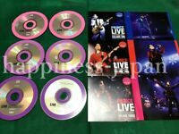 Prince Purple Gold Archives Live Anthology Soundboard 6 Disc Press CD Set F/S