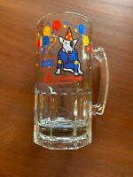 Vintage 1987 Bud Light Spuds Mackenzie The Original Party Animal Beer Glass Mug
