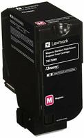 LEXMARK 74C1SM0 Magenta Toner Cartridge Genuine OEM Original