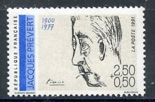 STAMP / TIMBRE FRANCE NEUF N° 2685 ** CELEBRITE / JACQUES PREVERT