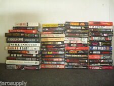 Lot of 10 True Crime Murder Homecide Investigate Detective Books MIX UNSORTED