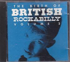 THE BIRTH OF BRITISH ROCKABILLY vol. 2 - various artists CD