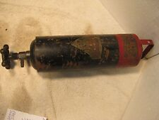 Vintage Weldon small portable fire extinguiher