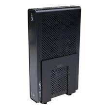 HIDEit Uni-SW (White) Adjustable Mini Computer Wall Mount, Small Cable Box