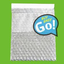 """150 x 200+25mm 100 Clear Self Seal Bubble Bags Plastic Packing Pouches 6"""" x 8"""""""