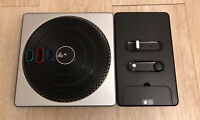 DJ Hero Wireless Turntable Controller Microsoft Xbox 360 UNTESTED NO GAME