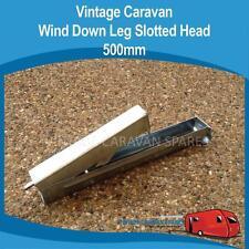 Caravan WIND DOWN LEG SLOTTED HEAD 500MM Vintage Viscount Franklin Millard York