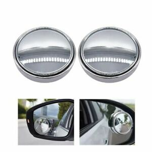 Car Blind Spot Mirror Rearview Side Wide Angle Parking Assistance Universal