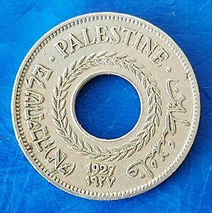 Israel Palestine British Mandate 5 Mils 1927 Coin XF