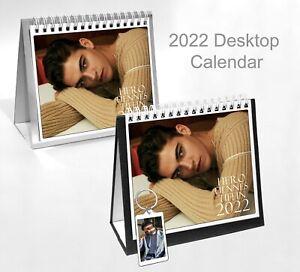 Hero Fiennes Tiffin 2022 Office Desktop Holiday Calendar + Key Ring